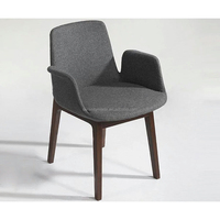 OEM Restaurant Furniture Upholstered Dining Chairs with Arms