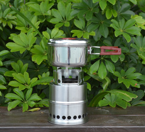Factory supply hot sale stainless steel small camping tent barrel stove