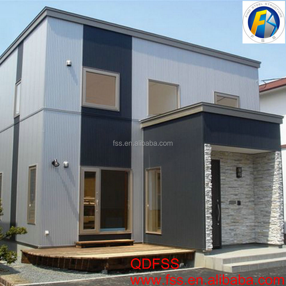 Light Steel Villa China Steel Frame Cheap Modern Luxury Prefab House