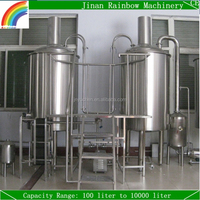 250 litre micro brewery / turnkey brewing system