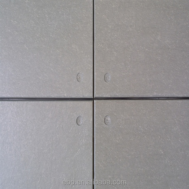 high density fiber cement board 4mm concrete wall panels interior