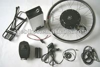 Rear/front wheel 48v 350w/500w/750w/1000w direct drive hub motor electric bike conversion with pack battery
