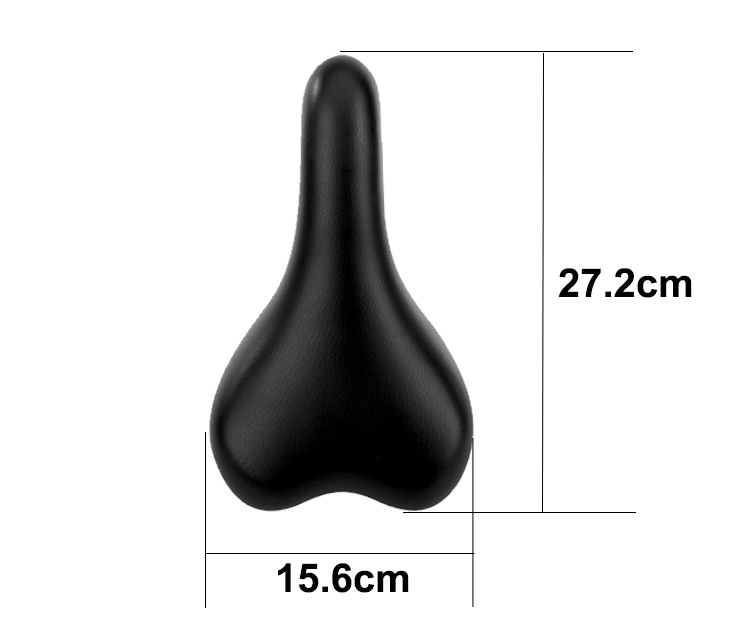 Soft Comfortable Bike Seat Cushion Saddles Bike Waterproof Cycling Saddle Professional Breathable MTB Leather Bike Saddle
