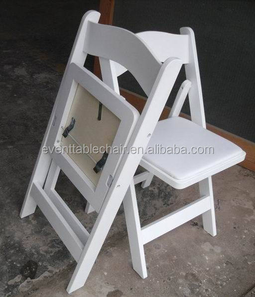 Used White Wooden Wedding Folding Chairs For Sale   Buy Used Wedding Folding  Chairs,Wood Folding Chair With Padded Seat,White Wedding Chairs For Sale ...