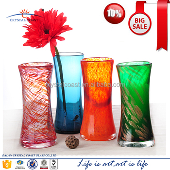 Dalian Factory Price Colored Small Glass Flower Bud Vases Buy