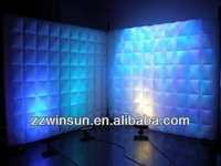 Air wall,inflatable LED light wall for exhibition