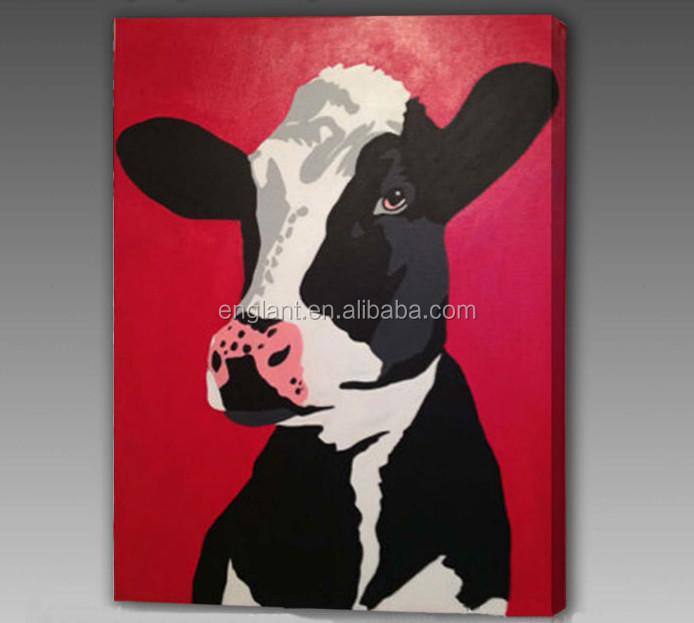 Home deco beroemde hond gezicht belichte dier schilderij op doek schilderen kalligrafie product - Deco schilderij slaapkamer kind ...