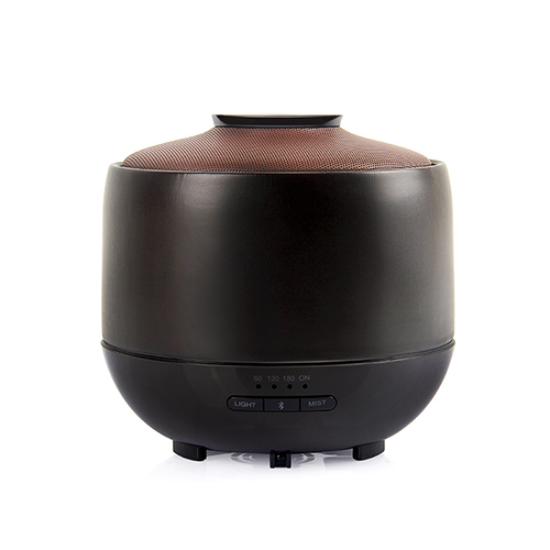 Aromatic Home Air Fragrance Diffusor with Music Speaker , Aromatherapy Electric Wireless Ceramic Aroma Essential Oil Diffuser