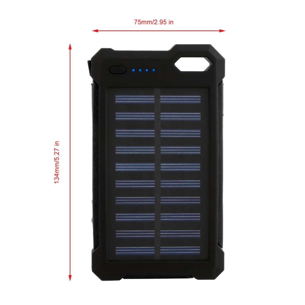Best prices free sample power banks solar 20000mah for high power