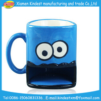 2016 Fun Biscuit Monster Mouth Ceramic Dunk Mug With Cookie Holder