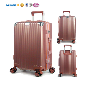 hot sales Wholesale Colorful Hard Case Trolley suitcase 4 wheel spinner travelling bags luggage set