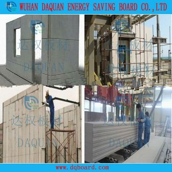 Light Weight And Insulated Eps Cement Exterior Wall Panel