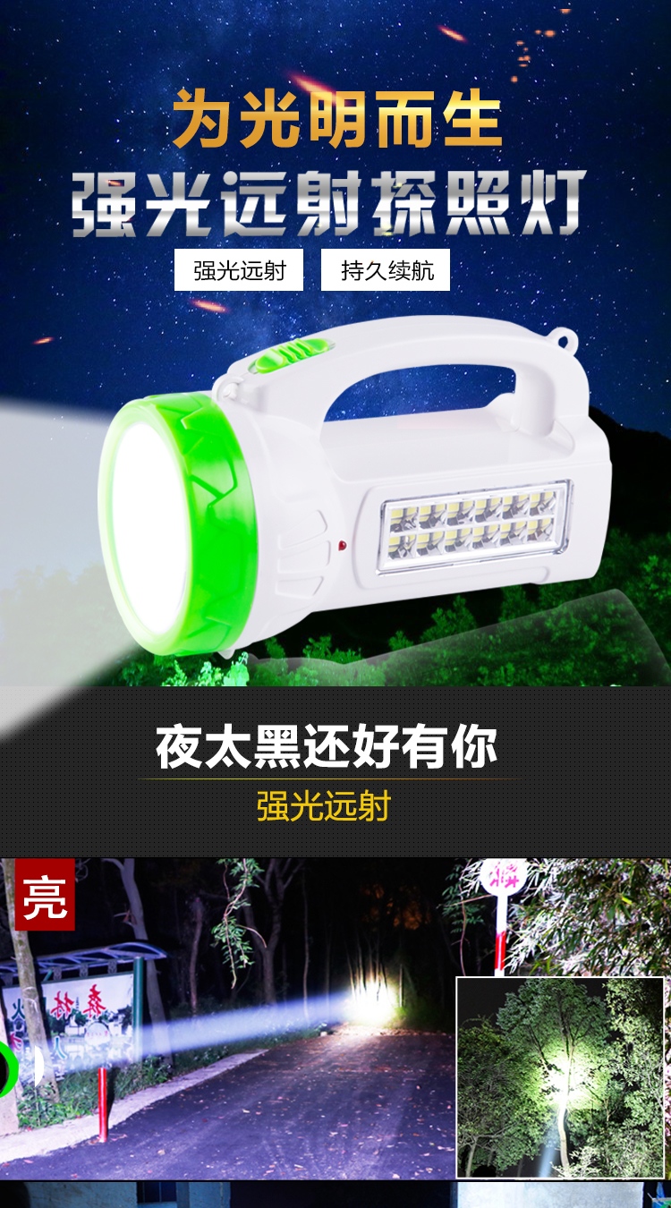 2019 rechargeable mini  flashlight powerful 3033