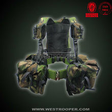 Camouflage webbing sets tactical combat assault vest