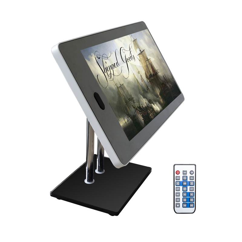 Top seller 13.3 inch 4K remote Magic Mirror advertising player