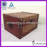 Retro Antique Vintage Wooden Box And Trunk (QL-1422)