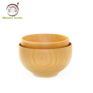 Factory sale excellent quality handmade unfinished beech wooden bowls
