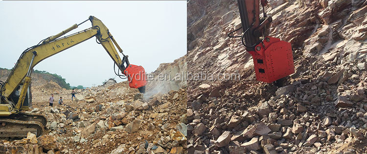 brand ripper equipment supplier LYD made hydraulic vibro rock ripper hammer and vibro ripper for excavator on sale
