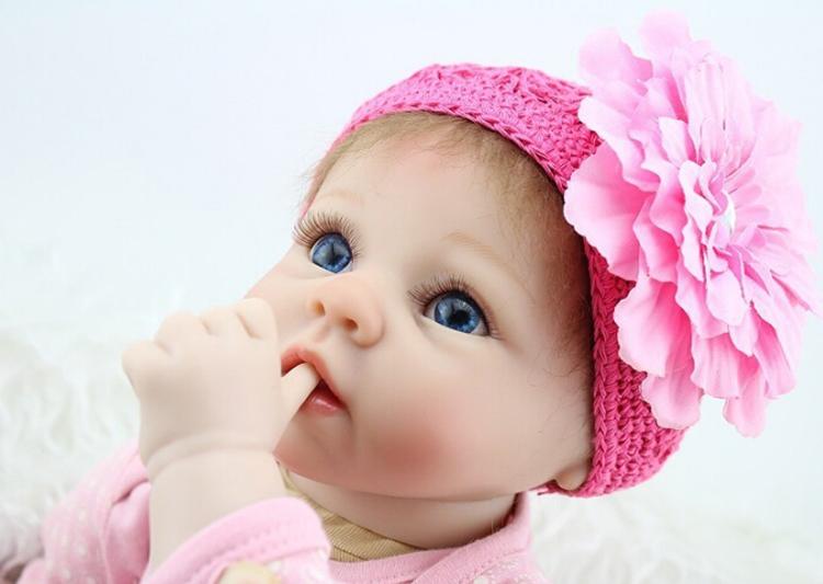 "Aliexpress.com : Buy 55cm 22"" Inch Babies Reborn Doll Cute"
