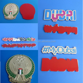 Custom uae dubai car badge car emblem sticker for uae national day