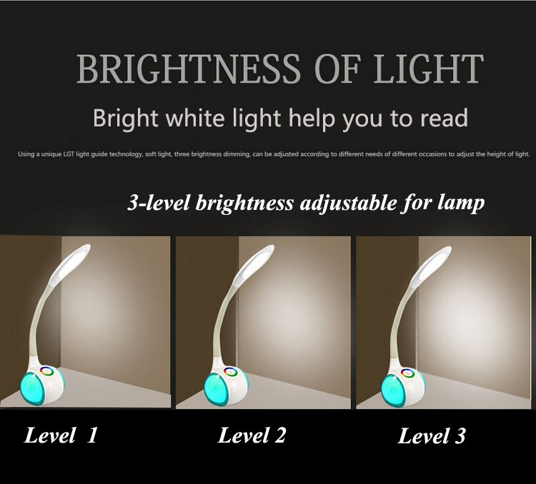 Friendship Touch Led Table Lamps Gooseneck Desk Lamp That Shield ...