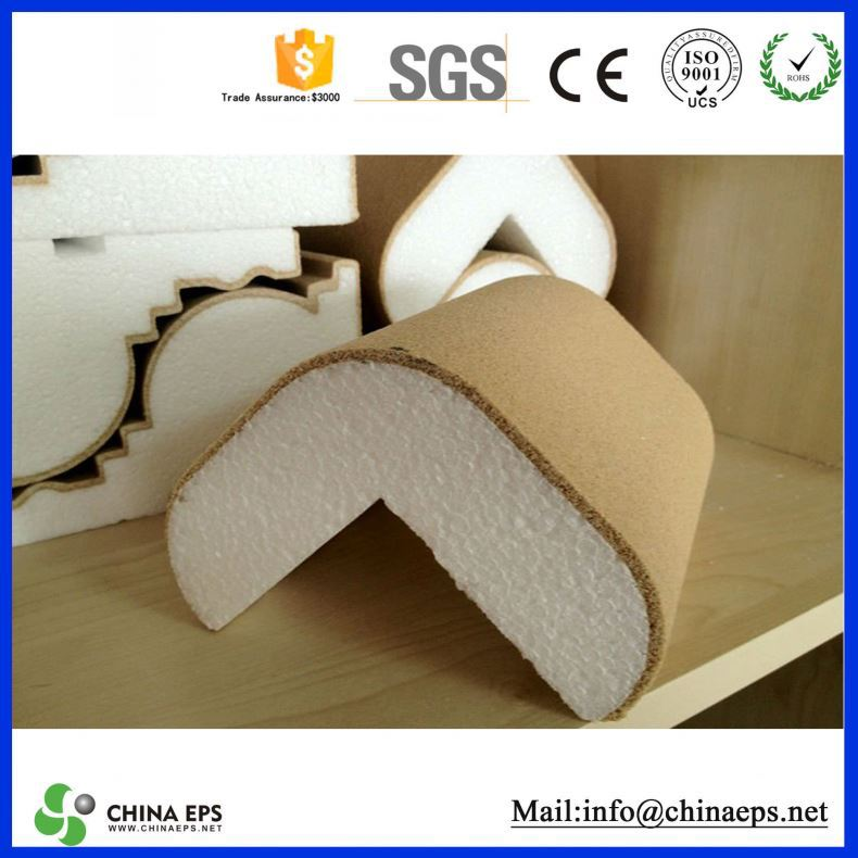 decoration exterior polystyrene cornice eps drip profile moulding for sale