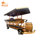 15 person Four wheel beer bike mobile bar tour beer Party bike