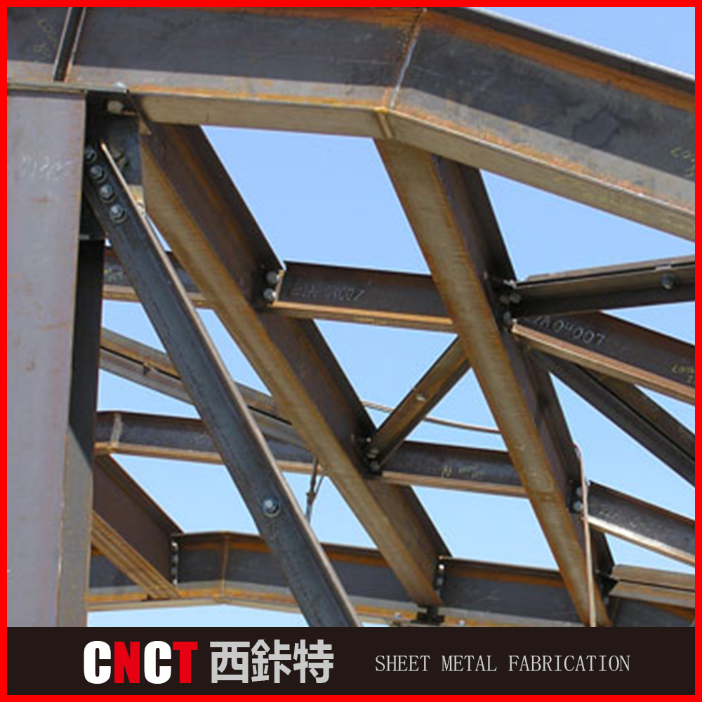 Professional angle iron round tube steel billboard structure