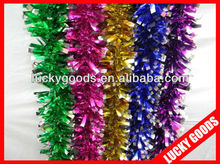 new design hanging party glitter foil tinsel decoration