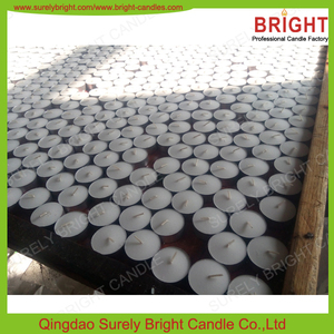 Good Quality Machine Pressed White Candle Light