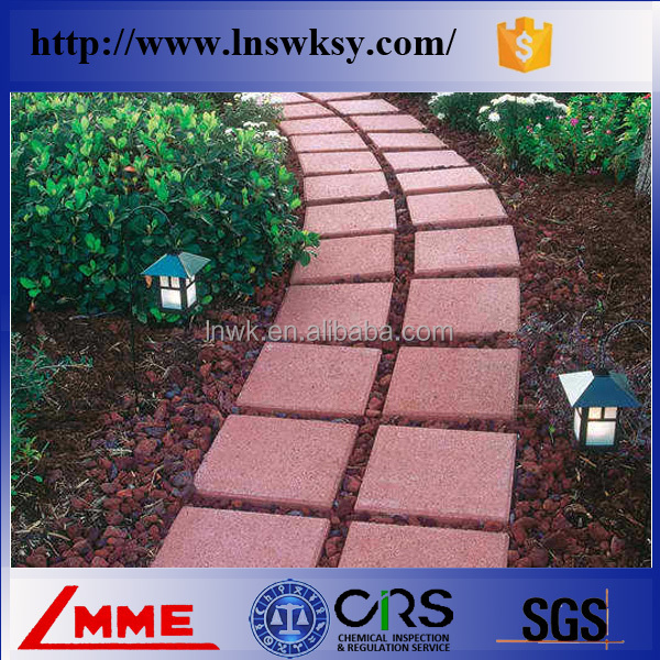 China Shenyang LMME Park or garden walking pavment volcanic rock for ornamental products with low price