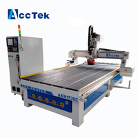 Jinan AccTek 1325 cnc carving machinery / atc cnc router machine / wood door design cnc router