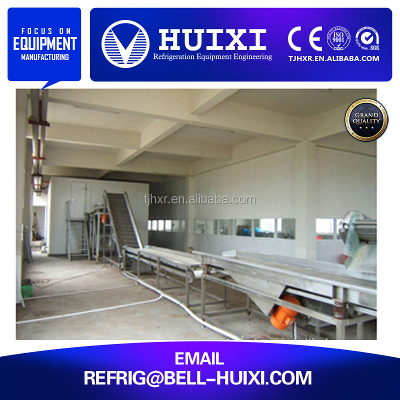 China Manufacturer of Fluidized Tunnel Blast Freezer