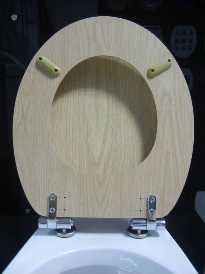 Stainless Steel Zinc Alloy Soft Close Toilet Seat Hinges Parts For - Soft close wooden toilet seat