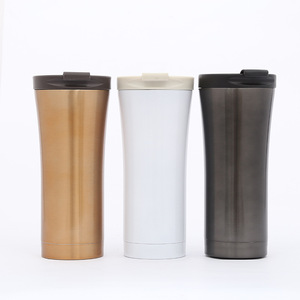 Wholesale Customized Logo Thermos Flask Couple Coffee Cup Double Wall Vacuum Stainless Steel Flask