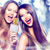 Magic K068 Wireless Bluetooth Microphone Ktv Karaoke Listen Music ...