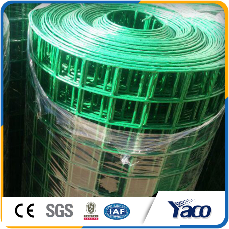 Wholesale alibaba green vinyl coated welded wire mesh for rabbit cages