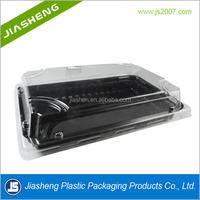 Plastic Take Away Sushi Packaging Box