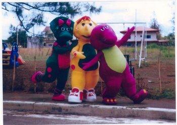 Barney,Bj,Baby Bop - Buy Giant Puppets Product on Alibaba com