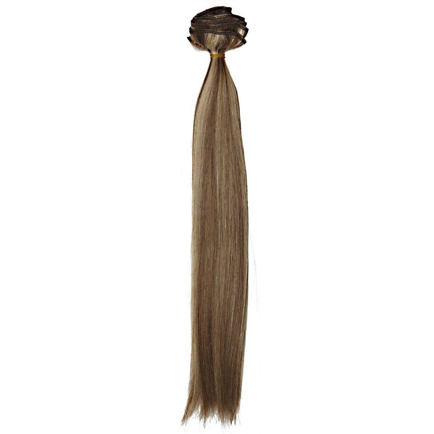 Euronext Dark Blonde Frost Clip In Hair Extensions, 14 Inch