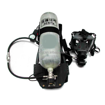 Compressed Air Breathing Apparatus For Firefighter