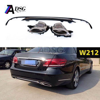 E Cl Sedan For Rear Per Diffuser With Exhaust Tips Benz W212