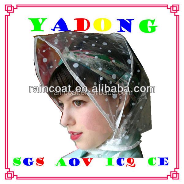 45486b7c43f China Pvc Rain Hat