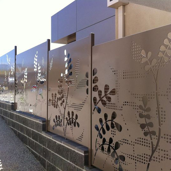 Laser Cut Decorative Outdoor Metal Screen Panels Sheet Product On Alibaba