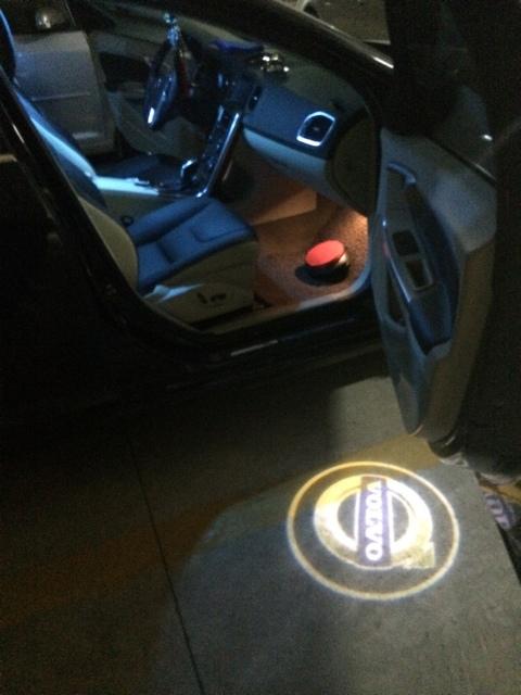 2x Logo Light Ghost Shadow Projector Car Door Courtesy