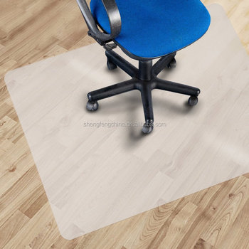 Clear Chair Mat Hard Floor Use Rectangle