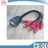 New Design VGA + 3.5 male to male RCA Cable With VW-1
