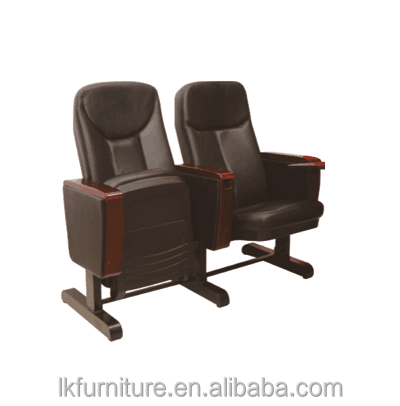 Public Auditorium Chairs With Folding Table Church Seating Price