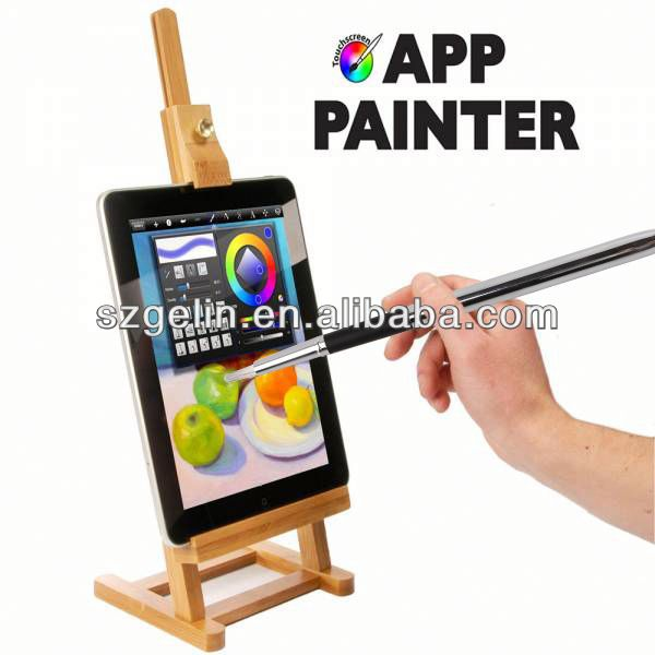 promotional high-sensitive brush painting touch screen pen stylus for Iphone Ipad HTC Sony Xperia