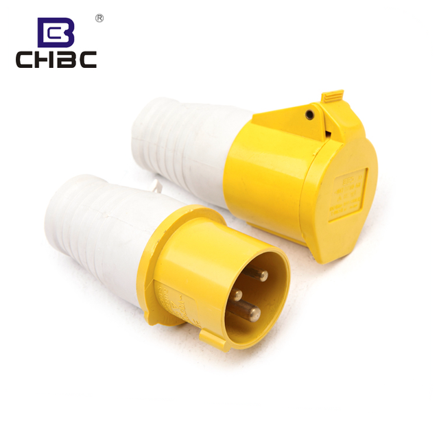 CHBC 63 Amp Industrial IP44 Waterproof Industry Plug And Socket